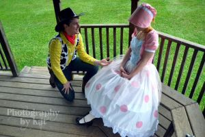 Woody and Bo Peep by krl2432