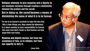 Kenan Malik on religion.. by rationalhub