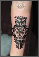 and owl again by Karviniya