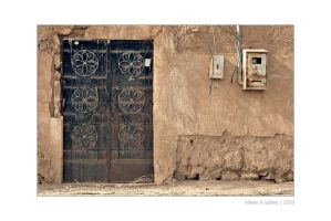 Just An Old Door by Amenoz
