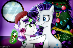 Christmas sisters by Applemaple19
