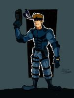Solid snake color by chip14