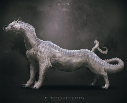 NeverEnding Story Redesign // Falkor by Vorace-Art