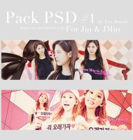 - Pack PSD #1 for Jin and JMin by LeeJennie