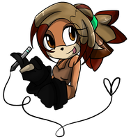 At with CreativeChibiGraphic ID by XLittlee