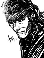 Solid Snake... by Archonyto