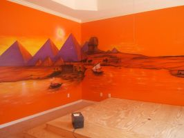 """""""Egypt"""" Mural by KidStyles"""