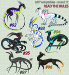 CLOSED//MTT adoptables - round 17 by annicron