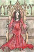 Merlin BBC: Bloody Queen by Yume07