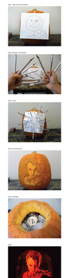 How to carve a pumpkin by ceemdee