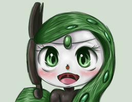 Meloetta Ladybug by RequestFag