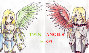 Twin Angels by Qvi