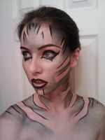 Alien War Paint by starbuxx