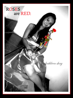 roses are red by kathleenshay
