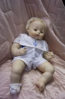 Baby Boy Doll by paintresseye