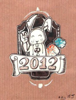 Happy new year 2012 by mjanvier