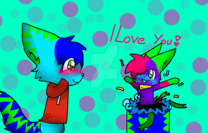 Love you forever by Blazeandkira