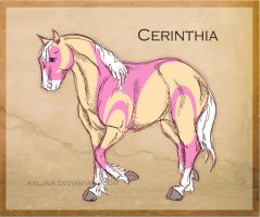 CH Cerinthia by Everland-Stables