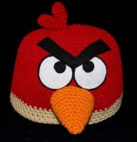 Angry Birds Beanie by rainbowdreamfactory