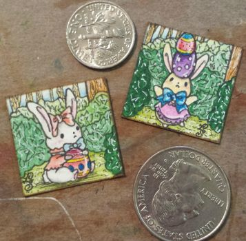 Fancy Bunnies - INCHIES by ParadoxSketchbook