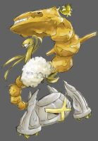 Gold Pokemon by Mictono