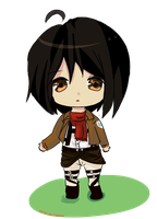 Mikasa by dailycupofdrawing