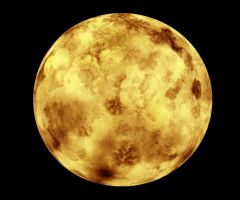 038 Golden Moon by Tigers-stock
