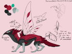Anteater bird butterfly thing design by Screeches