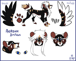 Reference Acrome Distrus by BlueMagicPanthera