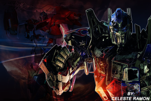 Optimus Prime: Red wallpaper by celtakerthebest