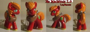 MLP: FIM Custom Blind Bag Big Mac Macintosh 2.0 by LadyDraconic