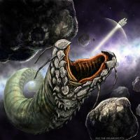 Space Slug by Grumbleputty