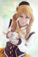Tomoe Mami cosplay III by Phadme