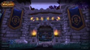 Warlords of Draenor -Alliance themed  Login Screen by Smithe06