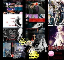 D.Gray-Man Osu! Skin [RAR] by Allen-WalkerDGrayMan