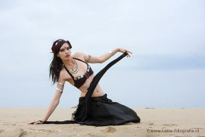 bellydance at the beach by feeora