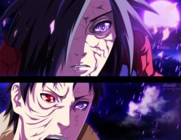 Madara and Obito by Eroishi