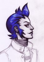 Shadow Eikichi Sketch by WafflesMcCoy