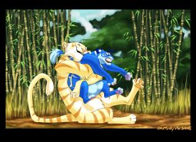 Liger Squishies by hellcorpceo