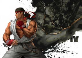 Street Fighters IV by Kaiz0