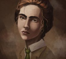 A Young Lutece by perpetualillness
