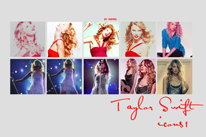 Taylor swift icons 1 by Sevein18