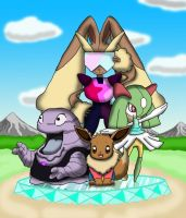 Steven Universe and the Mystery Dungeon Gems by Ravencourse