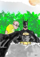 Batman and a guy named Dave by danny2069