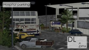 MMD Hospital Parking DL by innaaleksui