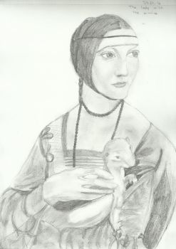 The Lady With An Ermine by kunstb