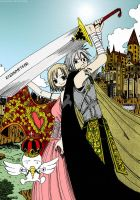 Rave Master Color 04 by Mariana-chan