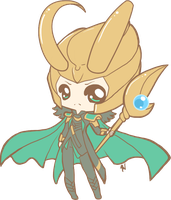 .:I am Loki, of Asgard:. by PhantomCarnival