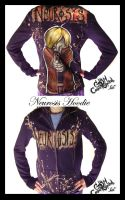 Neurosis Hoodie by Cosmiksquirel