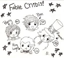 Fable Chibis by VoldemortsLeftNipple